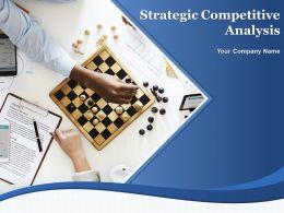 Strategic Competitive Analysis Powerpoint Presentation Slides