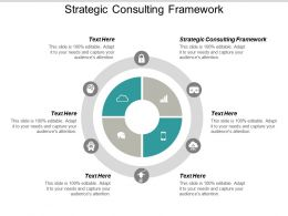 Strategic Consulting Framework Ppt Powerpoint Presentation Ideas Show Cpb