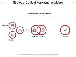 Strategic Content Marketing Workflow Ppt Powerpoint Presentation Gallery Graphics Example Cpb