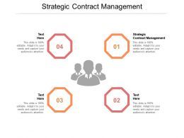 Strategic Contract Management Ppt Powerpoint Presentation Model Format Cpb