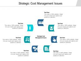 Strategic Cost Management Issues Ppt Powerpoint Presentation Infographic Template Background Cpb