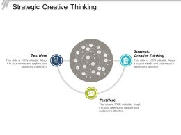 Strategic Creative Thinking Ppt Powerpoint Presentation File Slide Portrait Cpb