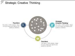 Strategic Creative Thinking Ppt Powerpoint Presentation File Slide Portrait Cpb