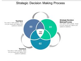 Strategic Decision Making Process Ppt Powerpoint Presentation Infographics Portrait Cpb
