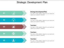 Strategic Development Plan Ppt Powerpoint Presentation Summary Aids Cpb