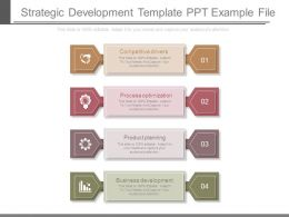 Strategic Development Template Ppt Example File