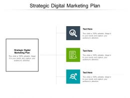 Strategic Digital Marketing Plan Ppt Powerpoint Presentation File Templates Cpb