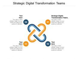 Strategic Digital Transformation Teams Ppt Powerpoint Presentation File Cpb