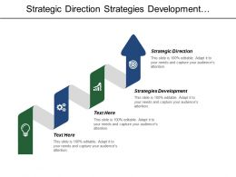Strategic Direction Strategies Development Warehouse Management Transportation Supply Management