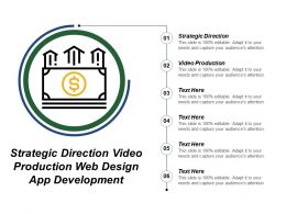 Strategic Direction Video Production Web Design App Development
