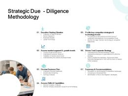 Strategic Due Diligence Methodology Growth Ppt Powerpoint Presentation Icon