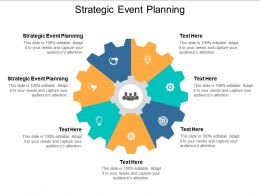 Strategic Event Planning Ppt Powerpoint Presentation Styles Visual Aids Cpb