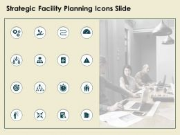 Strategic Facility Planning Icons Slide Gears Technology Ppt Powerpoint Presentation Clipart