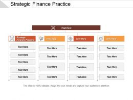 Strategic Finance Practice Ppt Powerpoint Presentation Gallery Diagrams Cpb