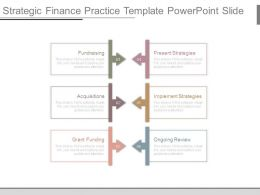 Strategic Finance Practice Template Powerpoint Slide