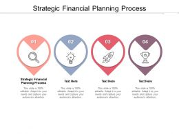 Strategic Financial Planning Process Ppt Powerpoint Presentation Slides Cpb