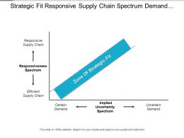 Strategic Fit Responsive Supply Chain Spectrum Demand Uncertainty
