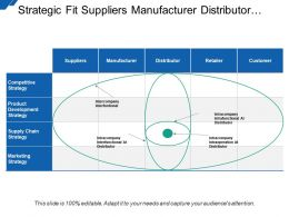 Strategic Fit Suppliers Manufacturer Distributor Retailer Consumer