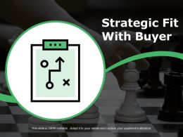Strategic Fit With Buyer Ppt Sample File
