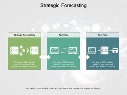 Strategic Forecasting Ppt Powerpoint Presentation Icon Grid Cpb