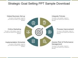 Strategic Goal Setting Ppt Sample Download