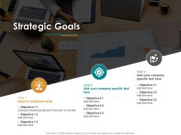 Strategic Goals Objective M2614 Ppt Powerpoint Presentation Gallery Introduction