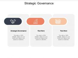 Strategic Governance Ppt Powerpoint Presentation Ideas Aids Cpb