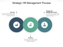 Strategic HR Management Process Ppt Powerpoint Presentation Slides Files Cpb