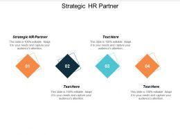 Strategic Hr Partner Ppt Powerpoint Presentation Gallery Slide Portrait Cpb