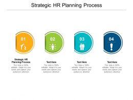 Strategic HR Planning Process Ppt Powerpoint Presentation Infographics Cpb