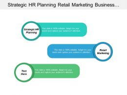 Strategic Hr Planning Retail Marketing Business Process Re Engineering Cpb