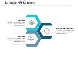 Strategic Hr Solutions Ppt Powerpoint Presentation Portfolio Layout Ideas Cpb