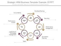 Strategic Hrm Business Template Example Of Ppt
