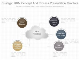 Strategic Hrm Concept And Process Presentation Graphics