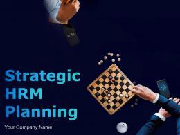 Strategic Hrm Planning Powerpoint Presentation Slides
