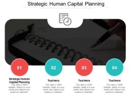 Strategic Human Capital Planning Ppt Powerpoint Presentation Gallery Template Cpb