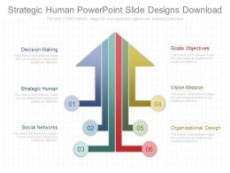 Strategic Human Powerpoint Slides Designs Download