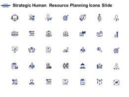 Strategic Human Resource Planning Icons Slide Checklist C769 Ppt Powerpoint Presentation Icon Graphic Images