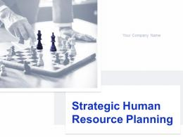 Strategic Human Resource Planning Powerpoint Presentation Slides