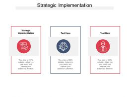 Strategic Implementation Ppt Powerpoint Presentation Infographics Picture Cpb