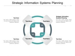 Strategic Information Systems Planning Ppt Powerpoint Presentation Pictures Designs Cpb