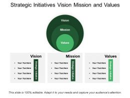 Strategic Initiatives Vision Mission And Values
