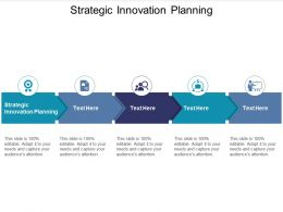 Strategic Innovation Planning Ppt Powerpoint Presentation Ideas Slide Cpb