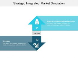 Strategic Integrated Market Simulation Ppt Powerpoint Presentation Gallery Inspiration Cpb