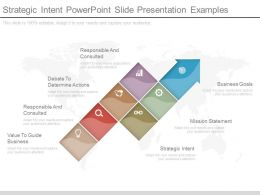 Strategic Intent Powerpoint Slide Presentation Examples