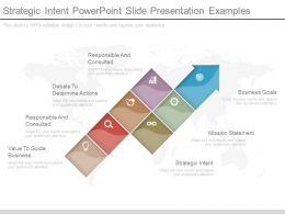 Strategic Intent Powerpoint Slide Presentation Examples