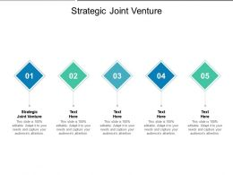 Strategic Joint Venture Ppt Powerpoint Presentation Visual Aids Infographic Template Cpb