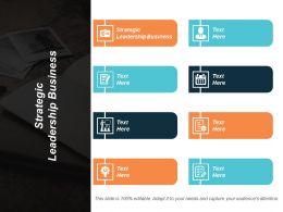 Strategic Leadership Business Ppt Powerpoint Presentation Inspiration Elements Cpb