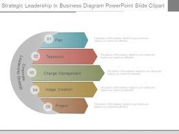Strategic Leadership In Business Diagram Powerpoint Slide Clipart