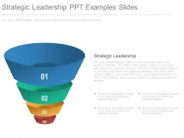 Strategic Leadership Ppt Examples Slides